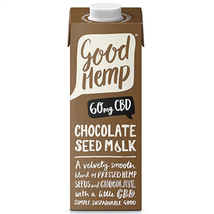 Good Hemp CBD Seed Milk 1000ml chocolate