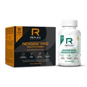 Nexgen® PRO + Digestive Enzymes 120 kapslí + Albion Magnesium 90 kapslí ZDARMA