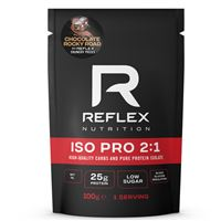 ISO PRO 2:1 100g chocolate rocky road
