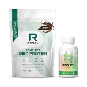 Complete Diet Protein 600g čokoláda + Green Tea 100 kapslí