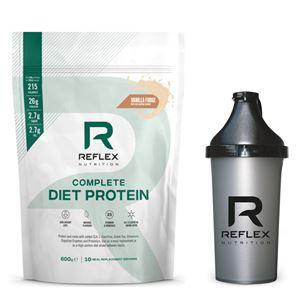 Complete Diet Protein 600g vanilkový fondán + šejkr zdarma