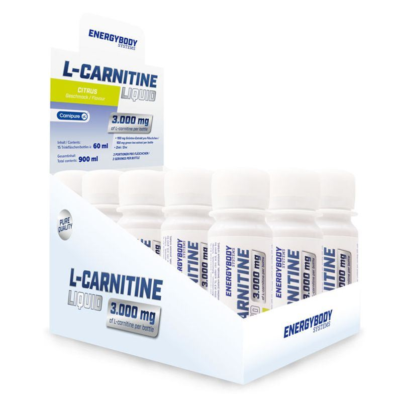 L-Carnitine Liquid 3000mg 15x60ml