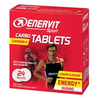 GT Sport Carbo Tablets 24 tablet citron