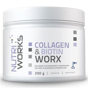 Collagen and Biotin Worx 250g