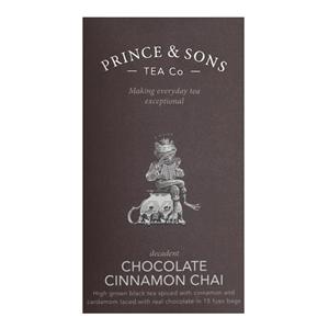 Chocolate Cinnamon Chai 15 sáčků (37,5g)