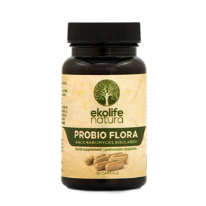 Probio Flora Sacharomyces Boulardi 30 kapslí (Probiotika Saccharomyces Boulardii)