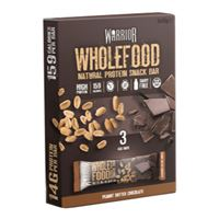 Wholefood Natural Protein Snack Bar 3 x 45g peanut butter chocolate