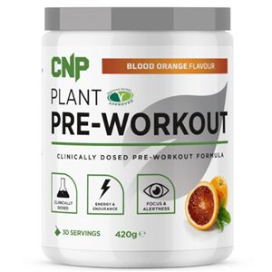 Plant Pre-Workout 420g blood orange