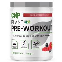 Plant Pre-Workout 420g red berries